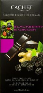 Chocolat noir au mures et gingembre