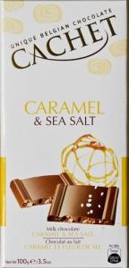 Chocolat au lait caramel fleur de sel